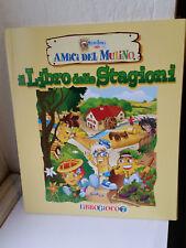 LIBRO GIOCO LIBROGIOCO MULINO BIANCO AMICI DEL MULINO NUMERO 7 STAGIONI MULINO