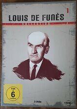 DVD* Louis de Funes * Kinowelt Collection * Box 1 * 3er Disc Set *