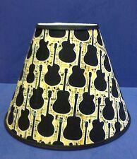 Guitar Silhouette Handmade Lamp Shade Lampshade