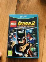 Jeu LEGO Batman 2 : DC Super Heroes pour Nintendo Wii U En Bon État Fr