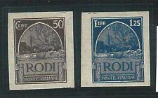 69567 -  Colonie EGEO Rodi - Sass 8b + 9b  non linguellati -  NON DENTELLATI