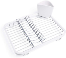 Umbra Sinkin Drying Rack – Dish Drainer Caddy with Removable Cutlery Holder Fits