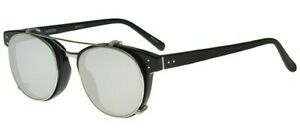Linda Farrow 581 BLACK WHITE GOLD PLATINUM/SILVER 47/20/145 Damen Sonnenbrillen