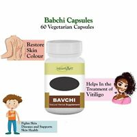 Bakuchi 60 Capsule for Vitiligo Skin Remove White Spot Eczema Vitiligo Treatment