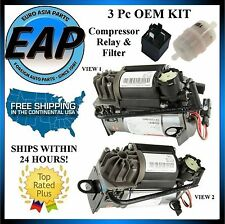 For Maybach 57 62 Mercedes CL CLS S OEM GERMAN Suspension Air Compressor KIT NEW