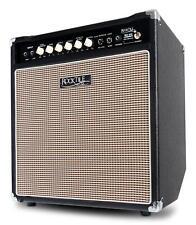 Amplificateur Basse Electrique Bass Combo Haut-Parleur Ampli 12'' Vintage 50W