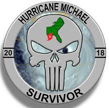 Hurricane Michael Survivor 2018 Sticker Decal, Cat 5 Mexico Beach FL.