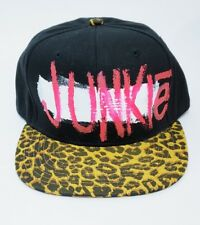 High End Junkie mens animal print snapback Hat