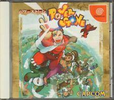 POWER STONE. Videogioco Dreamcast NTSC J Giapponese COMPLETO DI MANUALE
