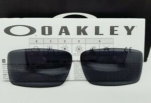 """OAKLEY replacement """"GASCAN"""" grey 13-499 LENSES for SUNGLASSES! NEW! AUTHENTIC!"""