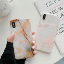 Luxury Jade Marble For iPhone XS MAX XR X 7 8 Plus Cover Phone Pattern Case Soft
