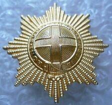 Badge- Coldstream Guards Regiment Cap Badge (Staybrite, Genuine*)