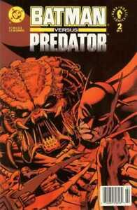 Batman vs. Predator #2 Newsstand Cover (1991-1992) DC & Dark Horse Comics