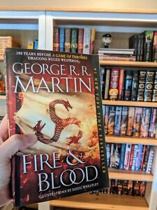 Signed Fire and Blood by George R. R. Martin (Trade Paperback)