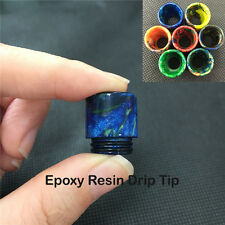 Wide Bore Epoxy Resin Drip Tips Mouthpieces Cap for TFV8 TFV12 Cloud Beast Goon