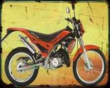 Gas Gas Pampera 200 98 A4 Metal Sign Motorbike Vintage Aged