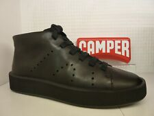 Camper Courb K400406 - 003 Lace Up Black Leather Womens Casual Boot Shoe