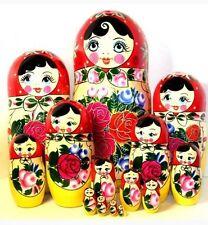 SEMENOVSKAYA 15 PC RUSSIAN DOLL Matryoshka Babushka Nesting doll Matreshka doll