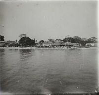 Africa Gambia Foto Q27 Placca Lente Stereo Positive Vintage Ca 1920