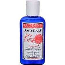 Eco-dent Daily Care Toothpowder Cinnamon -- 2 oz