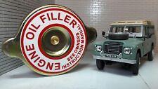 Engine Oil Filler Cap Land Rover Series 2a 3 Petrol 2.25 2.6 598231