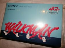 Sony Walkman A Series Black 16 GB Media Player NWA100TPS 40th Anniv Limited Box