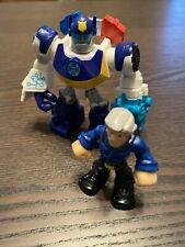 Playskool Heroes Transformers Rescue Bots CHIEF CHARLIE BURNS & CHASE Figure