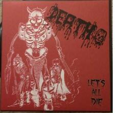 DEATH Lets all Die LP morbid angel sadus kreator slayer entombed deicide dark