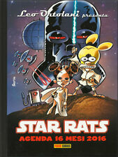 PANINI LEO ORTOLANI RAT-MAN RATMAN AGENDA 16 MONTHS 2016 + STAR RATS THE
