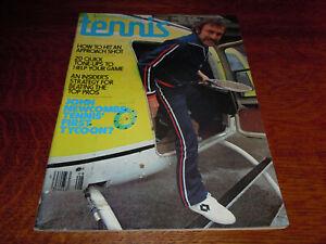 """VINTAGE AUGUST 1977 """" TENNIS """" SPORTS MAGAZINE"""