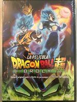 Dvd Dragon Ball Super Broly The movie | English, Español latino & Portugués