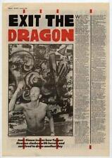 Clash Topper Headon UK Interview 1985