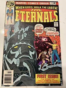 ETERNALS #1 1ST APP ETERNALS JACK KIRBY MOVIE MARVEL 1976 IKARUS CELESTIALS KEY!