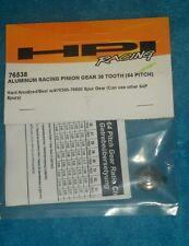 HPI Racing aluminum Racing Pinion Gear 38 Tooth 64 Pitch