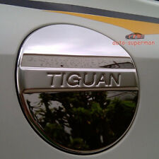 304 Stainless Steel fuel door gas cover tank cap Chrome For VW tiguan 2009-2016