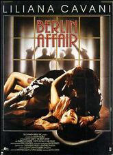 Affiche 120x160cm BERLIN AFFAIR 1985 Liliana Cavani - Landgrebe, Kevin McNally