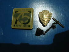 NPS National Park Service Tie Tack and 75rh Anni. pin