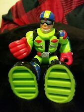 Old Vintage Toy Action Figure Figurine 2001 Mattel 78311 Rescue Hero Chunky Gree