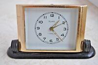 Аntique Soviet alarm clock Slava . Working. USSR