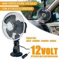 5 pollici 12V Mini Ventilatore Air Condizionatore per Auto Camion Accendisigari