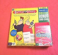 Battle of the Sexes Game plus Bonus Card Game - 2011 - Spin Master - NEW IN BOX