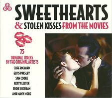 SWEETHEARTS & STOLEN KISSES HITS FROM THE MOVIES  3 CD SET CLIFF RICHARD ELVIS