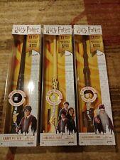 Harry Potter Wizard Training Wands Set Of 3. Harry, Dumbledore & Voldemort New!