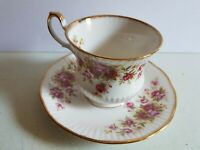 Queen's Fine Bone China Tea Cup and Saucer Set Vintage Ruby Wedding