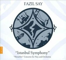 FAZIL SAY: ISTANBUL SYMPHONY; HEZARFEN CONCERTO [INCLUDES DVD] (NEW CD)