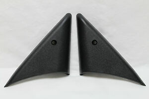 Camaro Firebird Power Mirror Bezel Trim Panels PAIR New Reproduction HT5278/5279