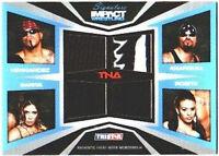 TNA Mexican America 2011 Sig Impact GOLD Quad Relic