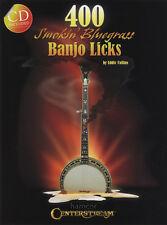 400 fumando Bluegrass Banjo Lame 5 Cuerdas Banjo Tab Libro/cd