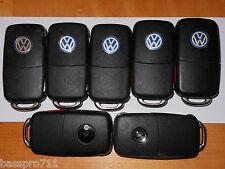 LOT OF 7 VW VOLKSWAGEN KEYLESS KEY  REMOTE ENTRY FOB OEM DIFFERENT STYLES