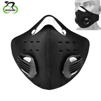 Cycling Face Cover with Filter Outdoor Mouth-muffle Bandana Dustproof Scavers